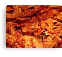 Bacon Canvas Print