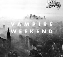 Vampire Weekend Modern Vampires of the City by elizagrisanti