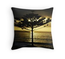 Sunrise at Narooma Beach Throw Pillow