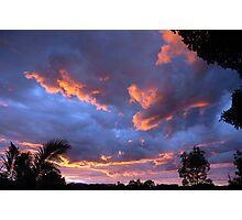 Out my back door Photographic Print