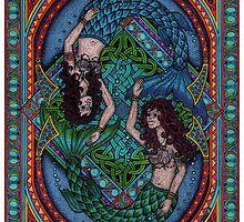 Celtic mermaids by CherrieB