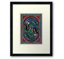 Celtic mermaids Framed Print
