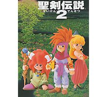 Secret of Mana Characters ~ Japan Photographic Print