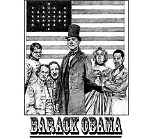BARACK OBAMA Photographic Print