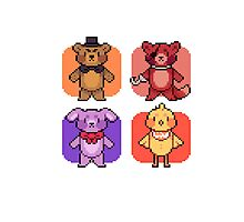 Five Nights at Freddy's - PIXEL by Lyra Hexica