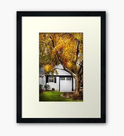 Golden  Framed Print