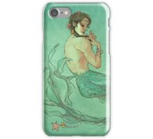 Mermaid Sam Braiding Hair iPhone Case/Skin