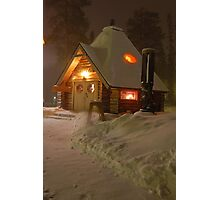 Ginger Bread Cottage Photographic Print