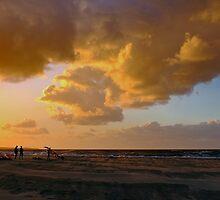 Kite surfers by Adri  Padmos