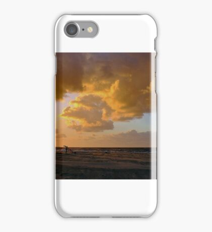 Kite surfers iPhone Case/Skin