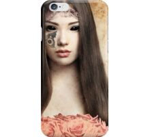 Almodine Holding Roses (Love Be Mine) iPhone Case/Skin