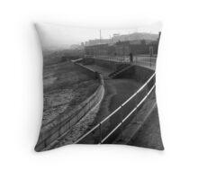 Aberdeen Beach Throw Pillow