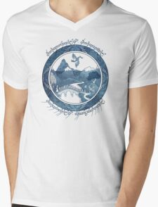 There And Back Again Mens V-Neck T-Shirt