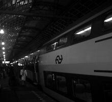 Amsterdam Centraal Station by Matthew Colvin de Valle