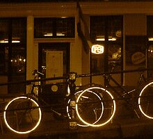 Bicycles in Amsterdam by Matthew Colvin de Valle