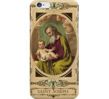 Saint Joseph iPhone Case/Skin