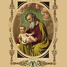 Saint Joseph by fajjenzu