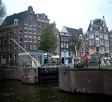 Canal Lock, Amsterdam by Matthew Colvin de Valle