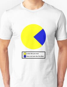 Pac Man pie chart T-Shirt