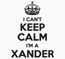 I cant keep calm Im a XANDER by icant
