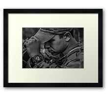 Ruben L. Framed Print