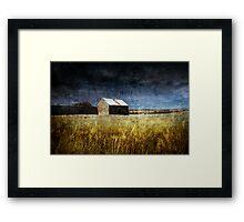 Borrowed Sky Framed Print