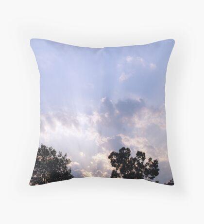 Awakening Promise Throw Pillow
