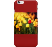 What Lovely Flowers iPhone Case/Skin