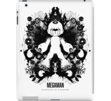 Megaman Nintendo Geek Psychological Diagnosis Ink Blot iPad Case/Skin