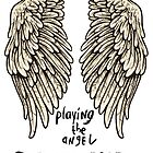 Depeche Mode : Playing the Angel - Only Wings 2 - Black by Luc Lambert