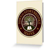 Storybrooke, Maine Greeting Card