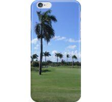 Golf Course In Punta Cana iPhone Case/Skin