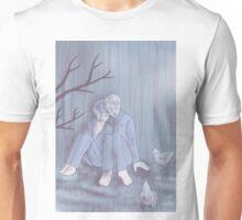 Hannigram - In the backyard Unisex T-Shirt