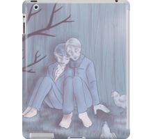 Hannigram - In the backyard iPad Case/Skin