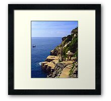 Lazing the day away Framed Print