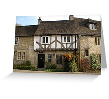 castle combe 4 Greeting Card
