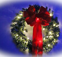 Festive Wreath by Cynthia48