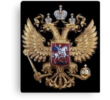Russian coat of arms Canvas Print