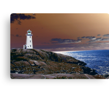 An Enchanting Lookout Canvas Print