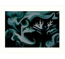 Alluring Swirls Art Print
