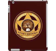 Storybrooke Sheriff Department iPad Case/Skin