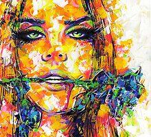 BLUE ROSE / Lana Del Rey by artxr