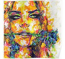 BLUE ROSE / Lana Del Rey Poster