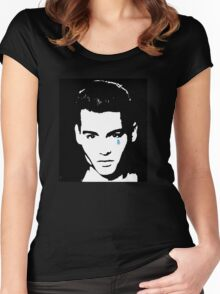 Cry Baby-JD  Women's Fitted Scoop T-Shirt