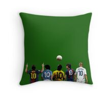 Top Number Tens Throw Pillow
