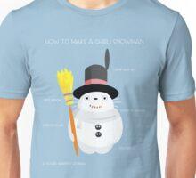 Ghibli snowman Unisex T-Shirt