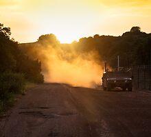 Hummer at Sunset by Neta Bartal