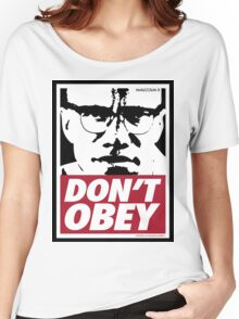 DON'T OBEY Women's Relaxed Fit T-Shirt