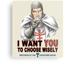 Choose Wisely Metal Print