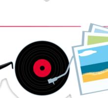 """I can dig Elvis."" - Twist & Shout 0.2 Sticker"